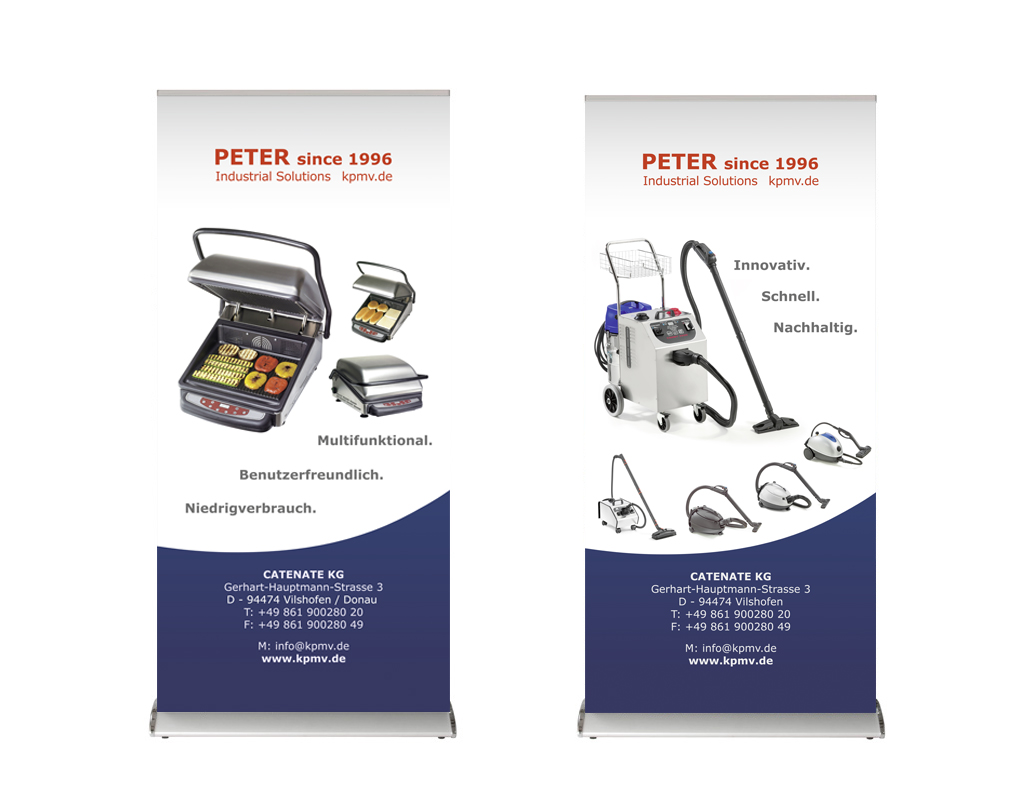 Roll up Banner Peter 1994 Vilshofen